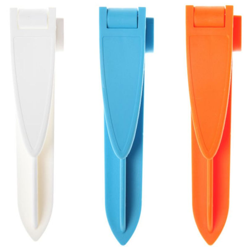 Pack of 4 Beach Towel Clips White