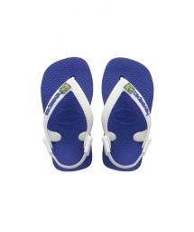 Sandaler - BABY BRASIL LOGO MARINE BLUE