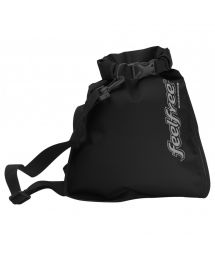 Waterproof black shoulder bag 5L - INNER DRY FLAT 5L BLACK