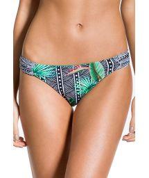 Tropical / geometric fixed bikini bottom - BOTTOM FIXO SUTIL ELEGANCIA