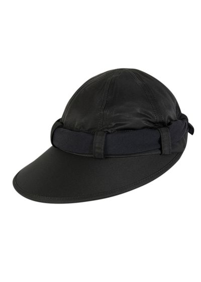 Black feminine cap and black tie - VISEIRA ANTIBES PRETO
