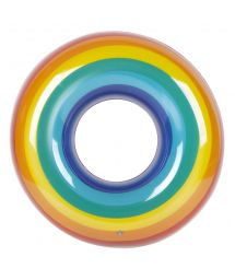 Uppblåsbar ring - regnbåge - RING RAINBOW