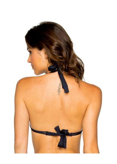 Triangle black halter bikini top - TOP LACE MAR COSTA DEL SOL
