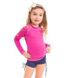 Pink long sleeve for kids - SPF50 - CAMISETA ROSA - SOLAR PROTECTION UV.LINE