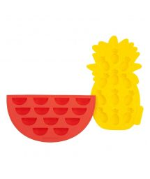 Ice silicone forms - pineapple & watermelon - FRUIT ICE TRAYS
