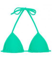 Green sliding triangle bikini top - TOP MARESIA TRI