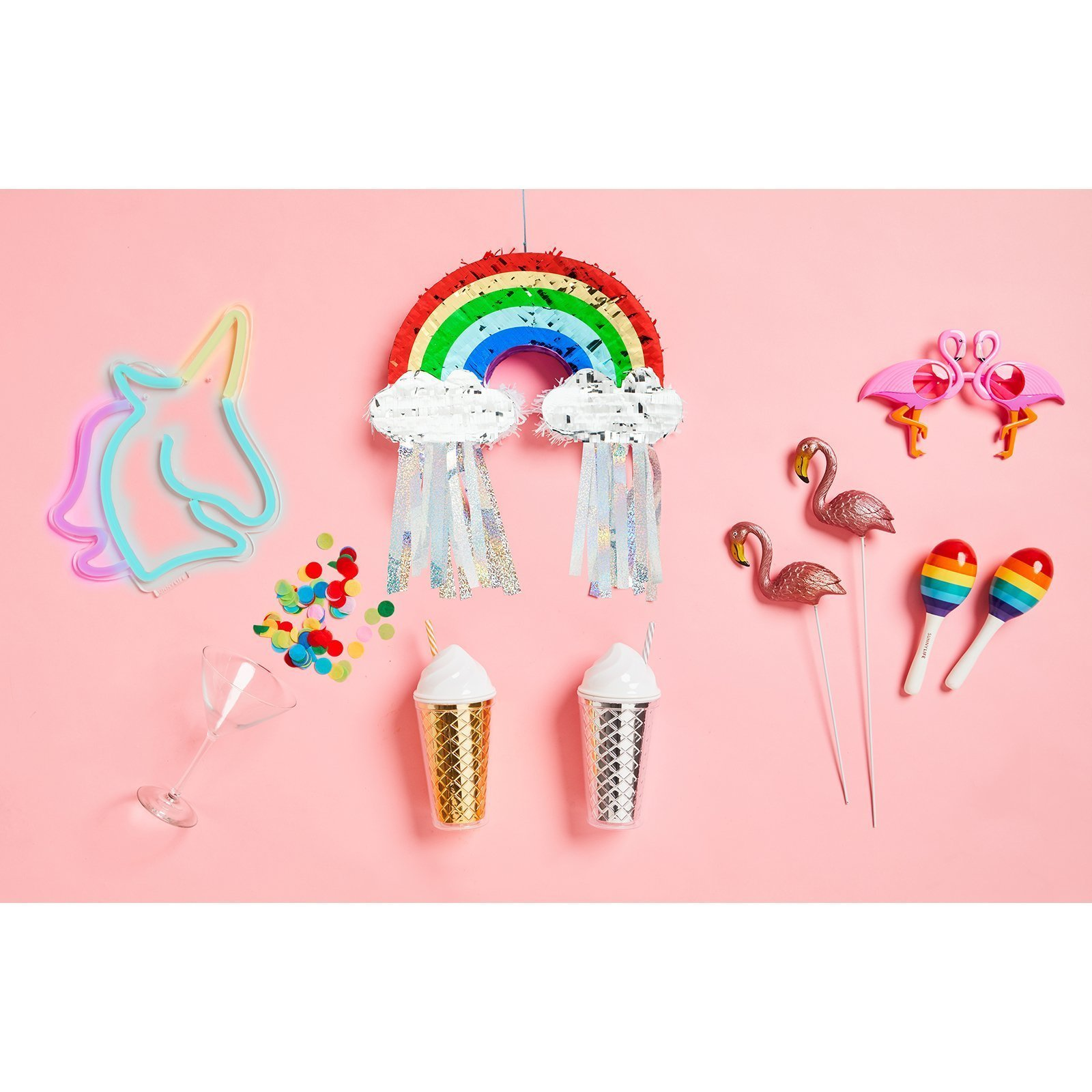 Party Small Rainbow Pinata Rainbow Mini Pinata Brand
